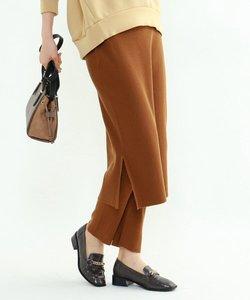 [S]レギンス付きニットスカート