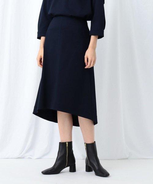 [S]【WEB限定/ハンドウォッシュ】イレヘムミモレスカート