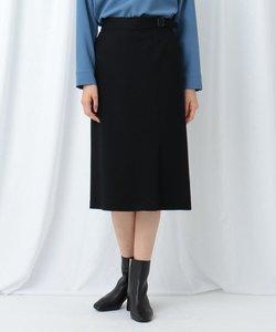 【WEB限定】ウールジャージ タイトスカート
