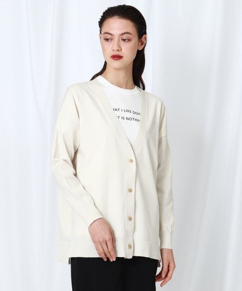 【WEB限定】カーディガン+ロゴTシャツ セット