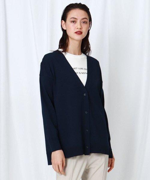 「S」【WEB限定】カーディガン+ロゴTシャツ セット