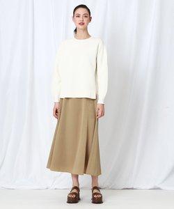 【WEB限定】レオパジャカードサス付きスカート