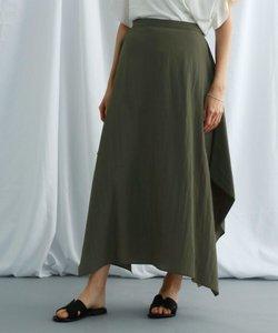 【ウォッシャブル】ヴィンテージワッシャーデザインスカート
