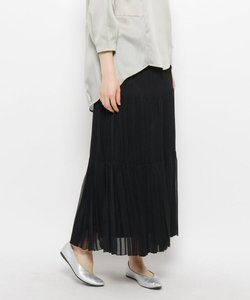 ティアードプリーツスカート