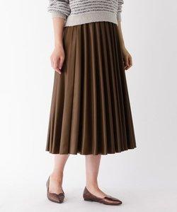 モードサテンシェルプリーツスカート
