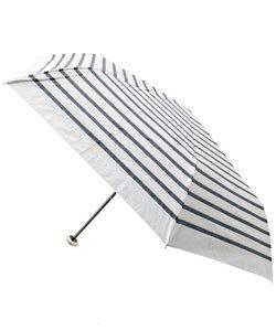 <Wpc.><遮光>ロープボーダーミニ日傘