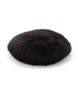 ★ニコラ掲載★アンゴラタッチベレー帽