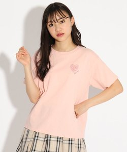 【オーガニックコットン100%】ゼブラハートTシャツ