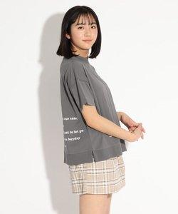 パッチワーク風Tシャツ