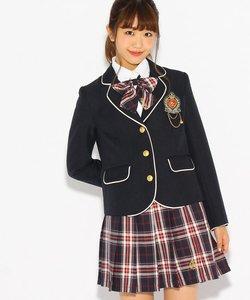 【卒服】リボンタイ付きプリーツスカート