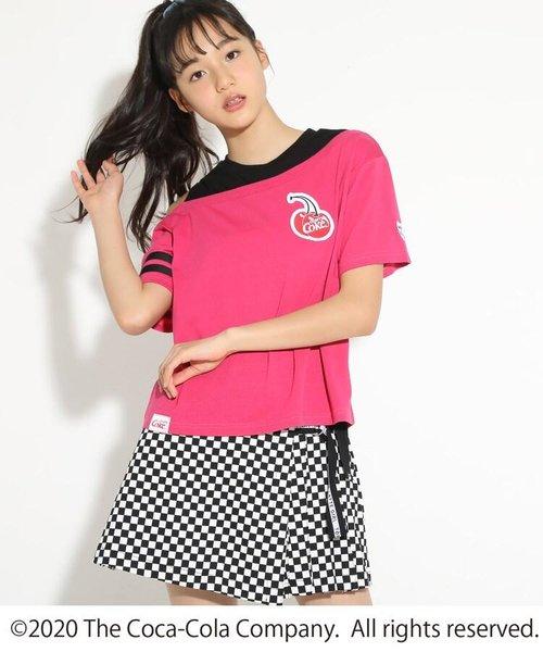 【COCA-COLA/Cherry Coke/コカ・コーラ/チェリーコーク】ワンショルTシャツ