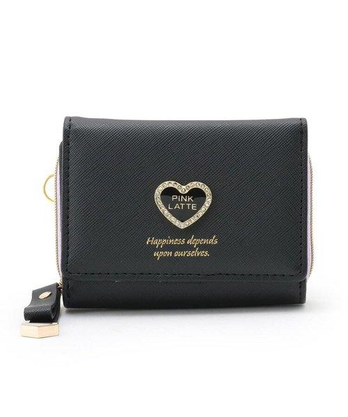 ハートモチーフミニ財布