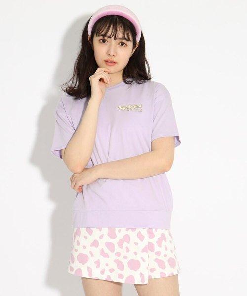 ★ニコラ掲載★【コットン100%】バックバルーンちびロゴTシャツ