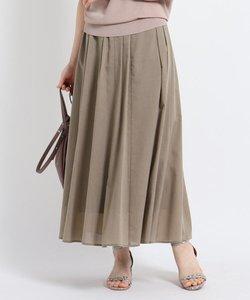 【洗える】ミディ丈ローンスカート