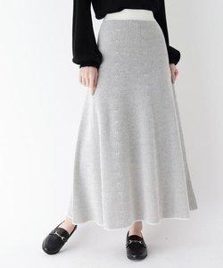 【手洗い可】リッチラックスフレアスカート