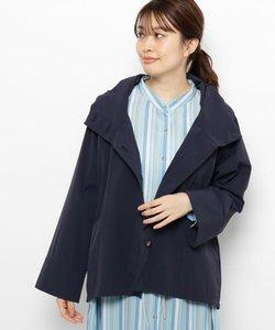【手洗い可】フード付きAラインジャケット