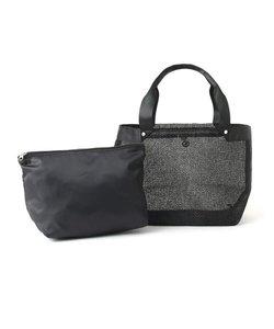 バッグインバッグ付きメッシュトートバッグ