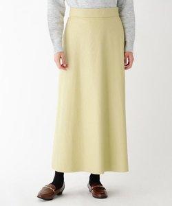 【大きいサイズあり・13号】フェイクレザークロスサイドスリットスカート