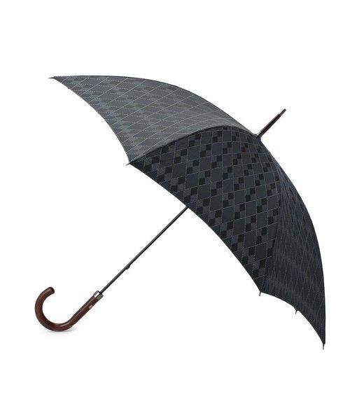 アーガイル柄長傘