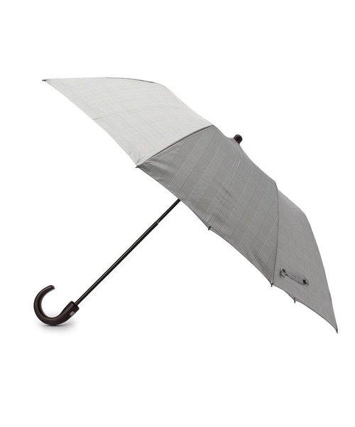 グレンチェック柄 折りたたみ傘