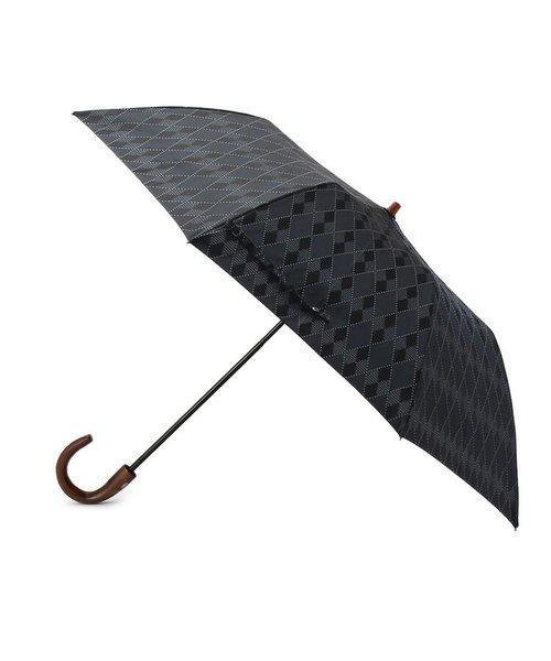アーガイル柄 折りたたみ傘