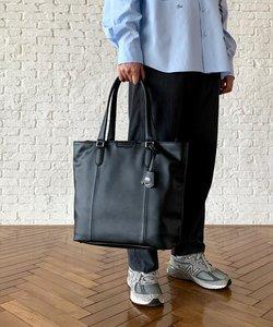 ブラック&ブラウン モノトーントートバッグ