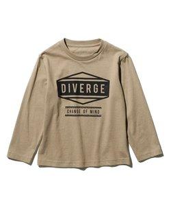 【90cmのみWEB限定サイズ】【WEB限定カラー有り】グラフィックプリントロングTシャツ