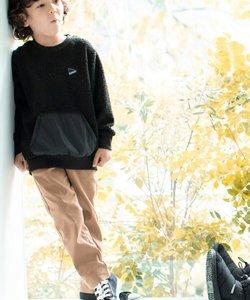 【015・094カラーWEB限定カラー】【裏起毛】あったかのび~るパンツ