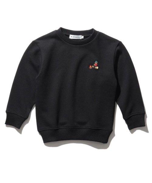 【WEB限定】焚火CAMP/ブッシュクラフトベアー刺繍ビックシルエットスウェット/トレーナー