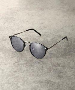 メタル切り替えボストン型メガネ(5099)
