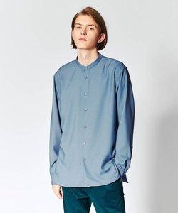 【S~3L】TRバンドカラーシャツ(ユニセックスアイテム)