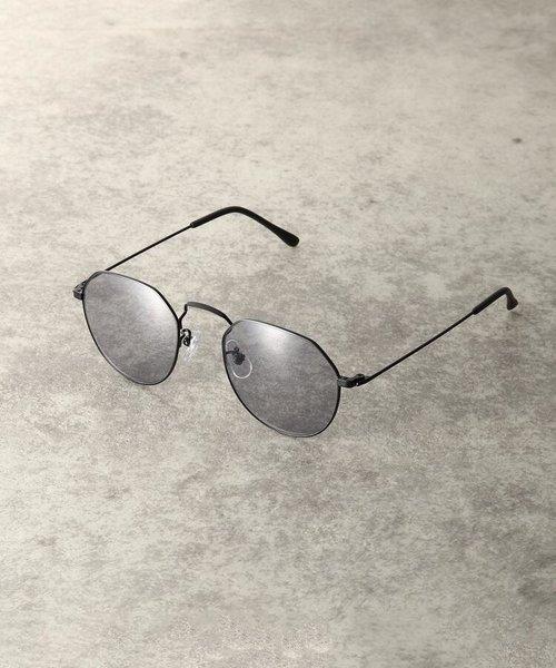変形ボストン型メガネ(3008)
