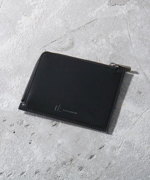 ガラスレザーカードケース