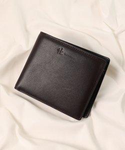 イタリアンレザー 二つ折り財布