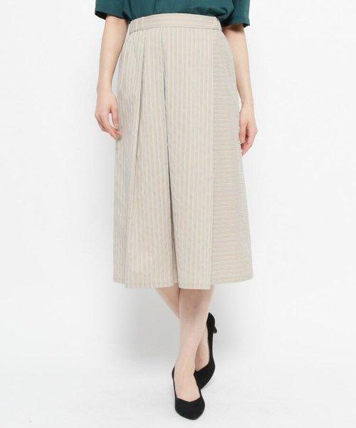 ドビーストライプスカート