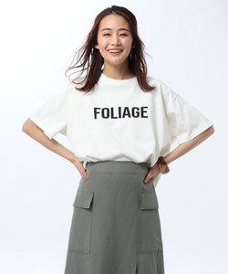 【洗える】コットンオーガニックテンジク ロゴTシャツ