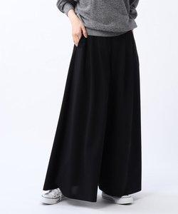 「L」【洗える・WEB限定】ハイゲージジャージスカーチョパンツ