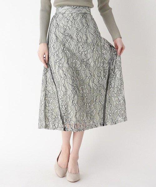 コードレースAラインスカート