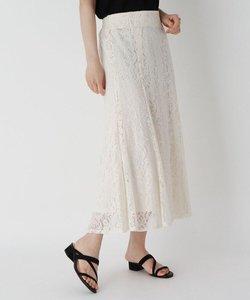 フラワーレースマーメイドスカート