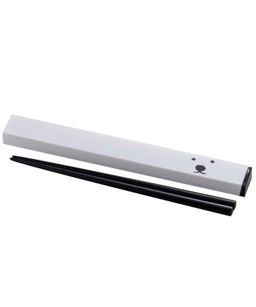 シロクマ スクエア箸箱セット 21cm