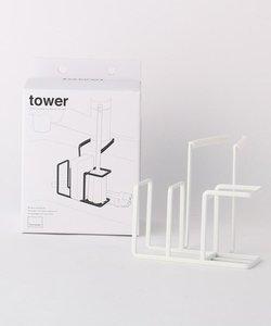 tower (タワー) 蛇口にかけるスポンジ&ブラシホルダー WH