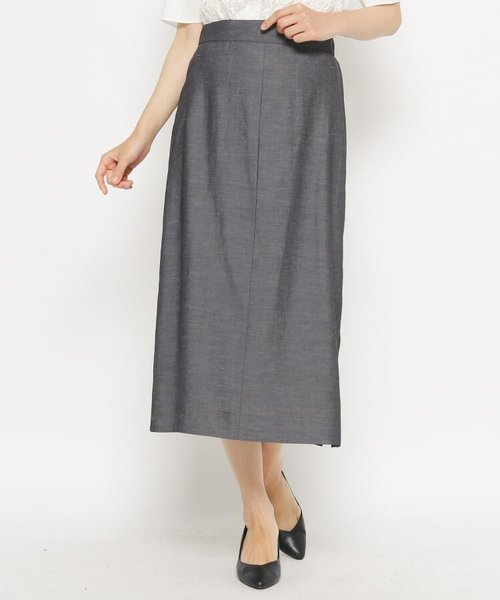 サイドスリットロングスカート
