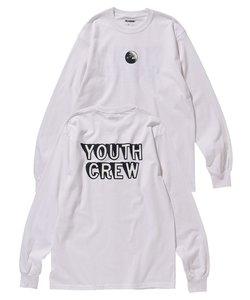 L/S TEE YOUTHCREW CIRCLE LOGO