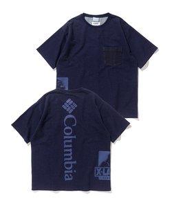 XLARGE×Columbia BLUE BROOK XL SHORT SLEEVE TEE