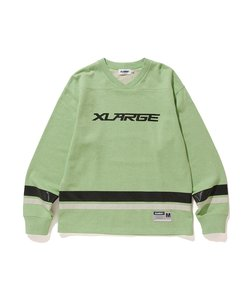 REFLECTOR LINED V NECK SWEAT
