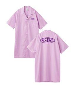 WARP LOGO SHIRT DRESS