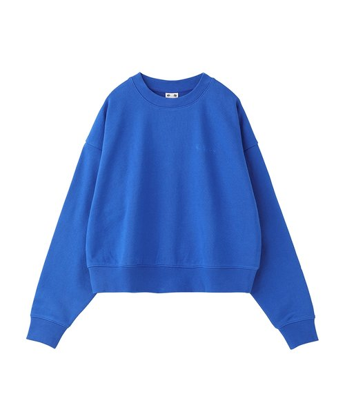 X-BABY CROPPED CREW SWEAT TOP