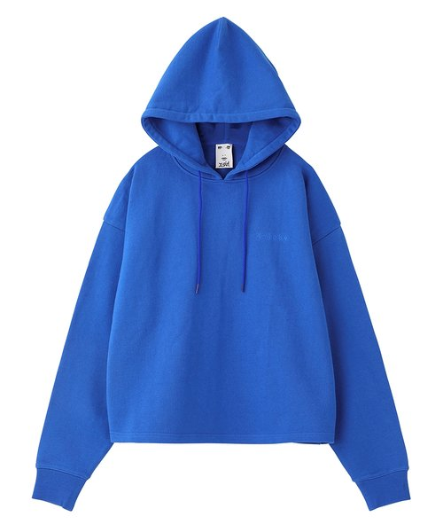 X-BABY CROPPED SWEAT HOODIE