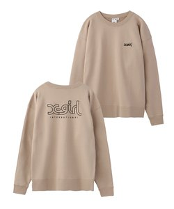 【WEB限定】EMBROIDERY MILLS LOGO CREW SWEAT TOP EC
