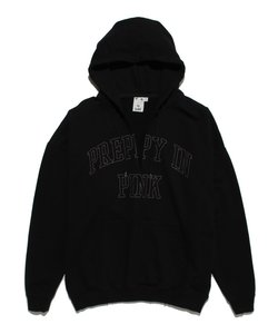 CUT OFF PULLOVER SWEAT HOODIE